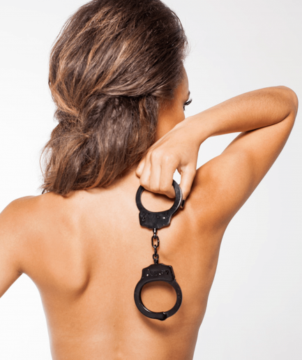Dominatrix Black Handcuff