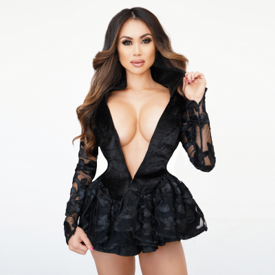 Openchest Mistress Lace Dressy Jacket