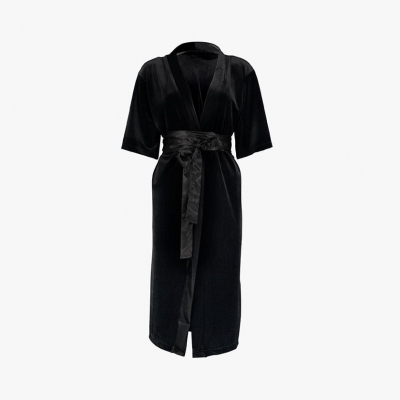Le Velour Long Robe