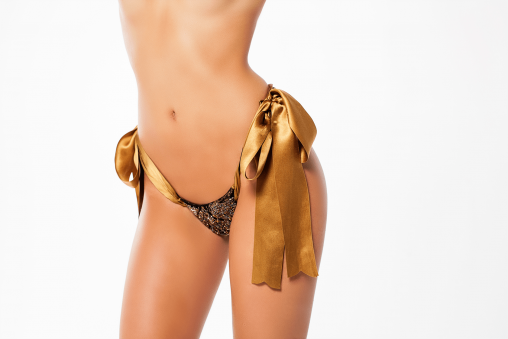 Golden Dominatrix Pleasure Thong